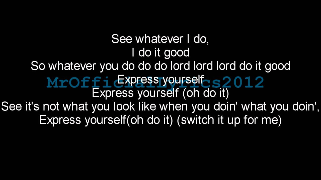 Labrinth - Express Yourself (Lyrics) *HQ AUDIO* - YouTube