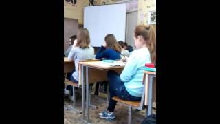 Урок биологии в школе №5