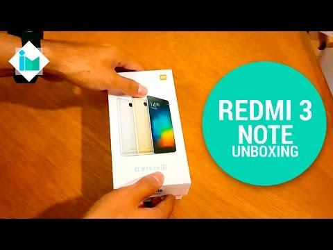 Xiaomi Redmi Note 3 - Unboxing en español