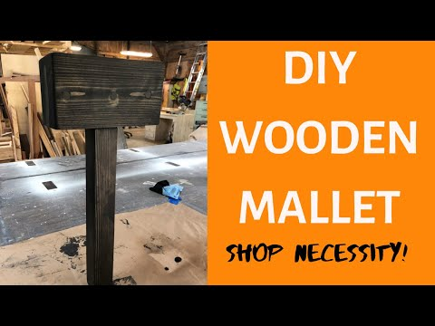 DIY Wooden Mallet! | DIY Woodworking Project