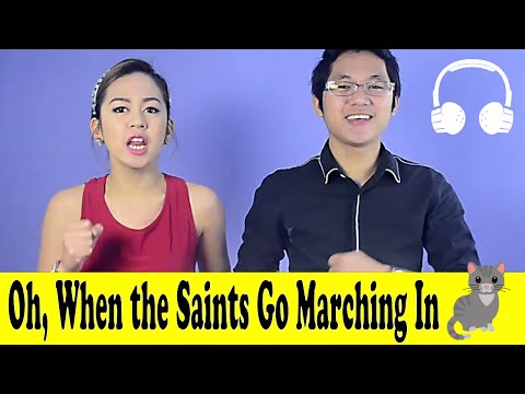 Oh, When the Saints Go Marching In | Family Sing Along - Muffin Songs
