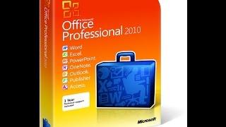 Microsoft Office 2010 Professional Rus с ключом продукта