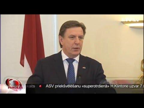 M.Kučinskis iepazīšanās vizītē Igaunijā