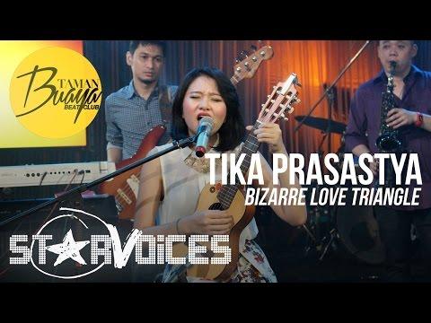 Tika Prasastya - Bizarre Love Triangle (New Order) Live at Taman Buaya Beat Club TVRI