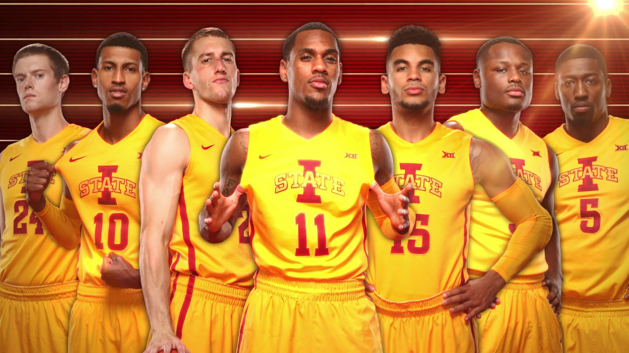 buy online 370a9 6a9ea 2017 Iowa State Men's Basketball Senior Night Video