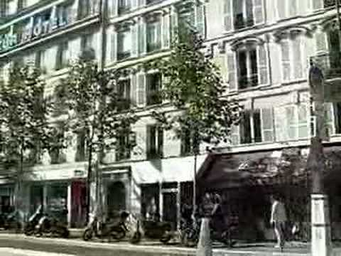 paris en voiture vers gare de lyon youtube. Black Bedroom Furniture Sets. Home Design Ideas