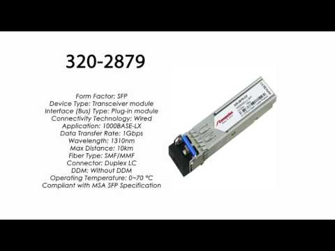 Generic 320-2879 Dell Compatible 1000BASE-LX SFP 1310nm 10km Transceiver