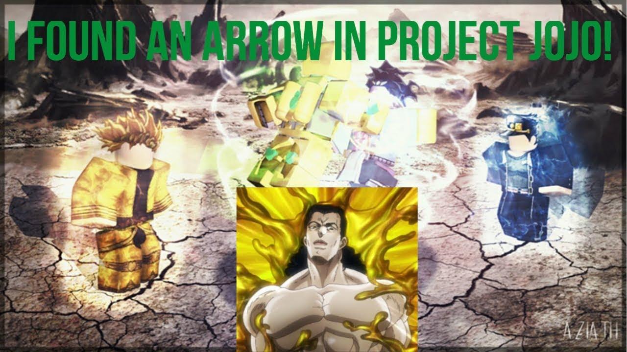 I Found An Arrow Project Jojo Youtube Jojo's bizarre adventure part 3: i found an arrow project jojo youtube