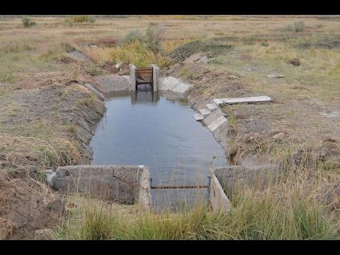 Восстановление/ремонт рыбоуловителя на нагульном пруду 48 га. Восстановление пруда 48 га. Часть 2