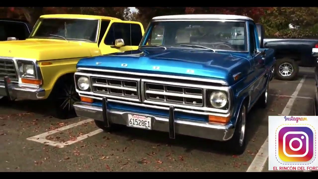 La indiscutible mejor camioneta de todos los tiempos Ford F100 / the best truck of all time F100