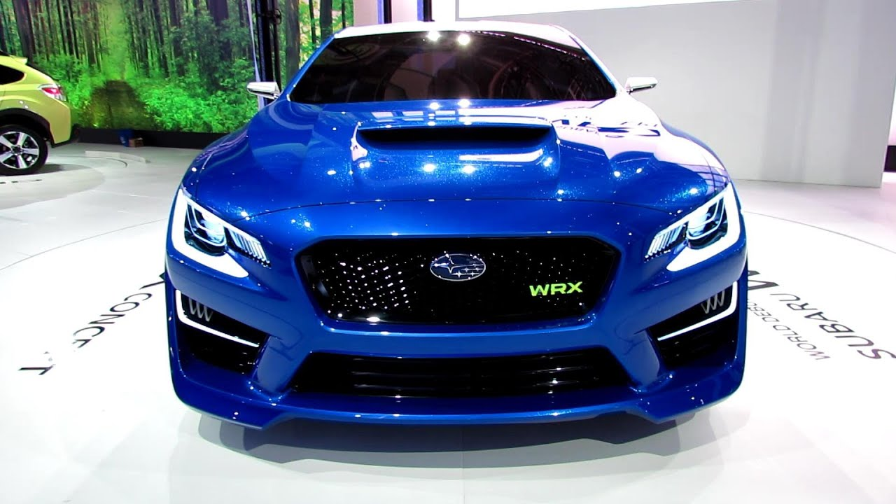 2015 subaru wrx concept world debut exterior. Black Bedroom Furniture Sets. Home Design Ideas