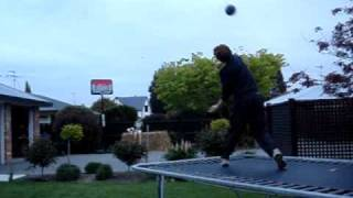 Flukey Basket Ball Shot