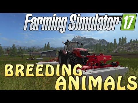 How To Breed Animals in Farming Simulator 2017 | Trying To Get Trophies | PS4 | Xbox One