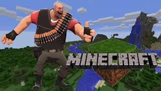 Repeat youtube video Heavy plays Minecraft