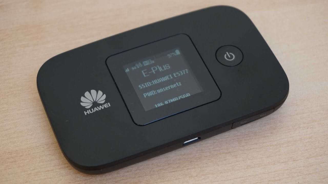 test huawei e5377 lte mifi hotspot youtube. Black Bedroom Furniture Sets. Home Design Ideas