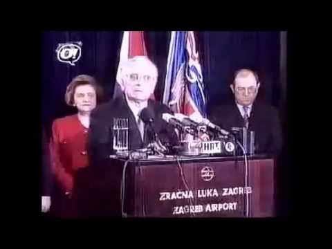 Dr.Franjo Tuđman - Proročki govor na plesu