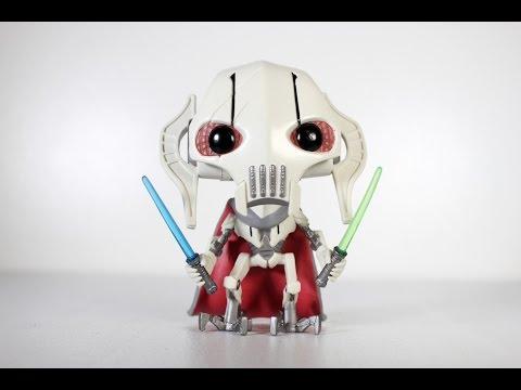 Star Wars GENERAL GRIEVOUS Funko Pop review