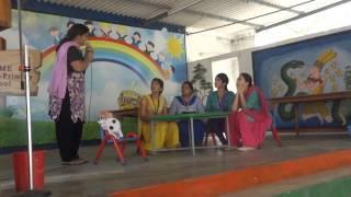 skit by teachers on children's day for preschool kids