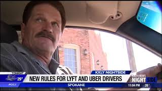 Spokane City Council approves new rules for Lyft, Uber drivers