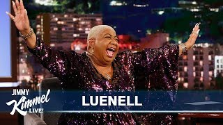 Luenell on Robbing a Bank, Dolemite & Filming Borat