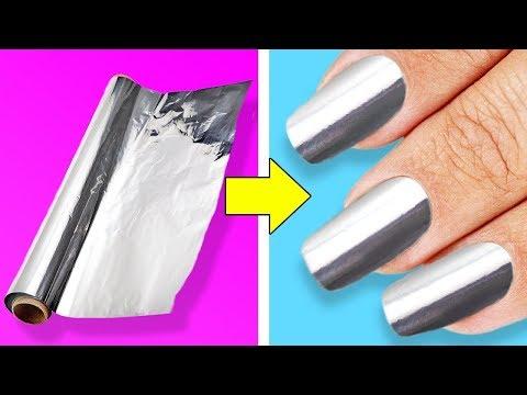 Как можно красиво накрасить ногти в домашних условиях