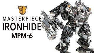 KL變形金剛玩具分享378 MPM-6 IRONHIDE 鐵皮