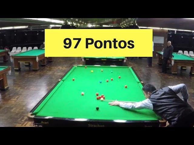 97 Pontos - Noel x Rafinha | Semifinal Snooker 2019