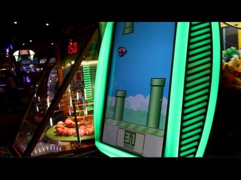 Playing At Fat Cats Arcade So Many Jackpots Joystick Youtube
