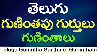 #Gunithapu Gurthulu గుణింతపు గుర్తులు - గుణింతాలు :Learn Telugu guninthalu : క గుణింతం : guninthalu