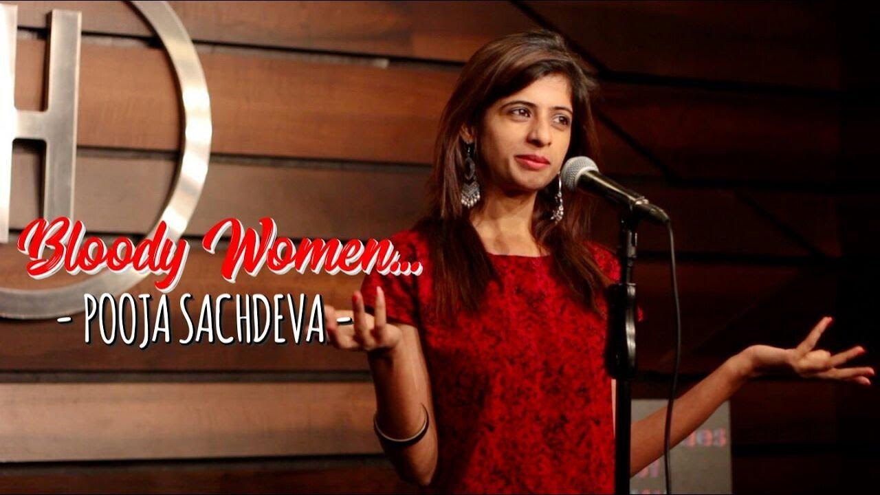 Bloody Woman | Pooja Sachdeva | Slam Poetry