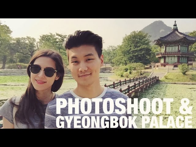 Photoshoot & Gyeongbokgung Palace in Seoul ??? ?? ?? & ??? (?? CC)