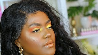 Bright Summer Makeup on Dark Skin | Makeup Geek Eyeshadows