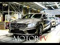 CAR FACTORY  : MERCEDES-BENZ CLA & B-CLASS PRODUCTION (Clip & Footage) l Kecskemét Plant Hungary