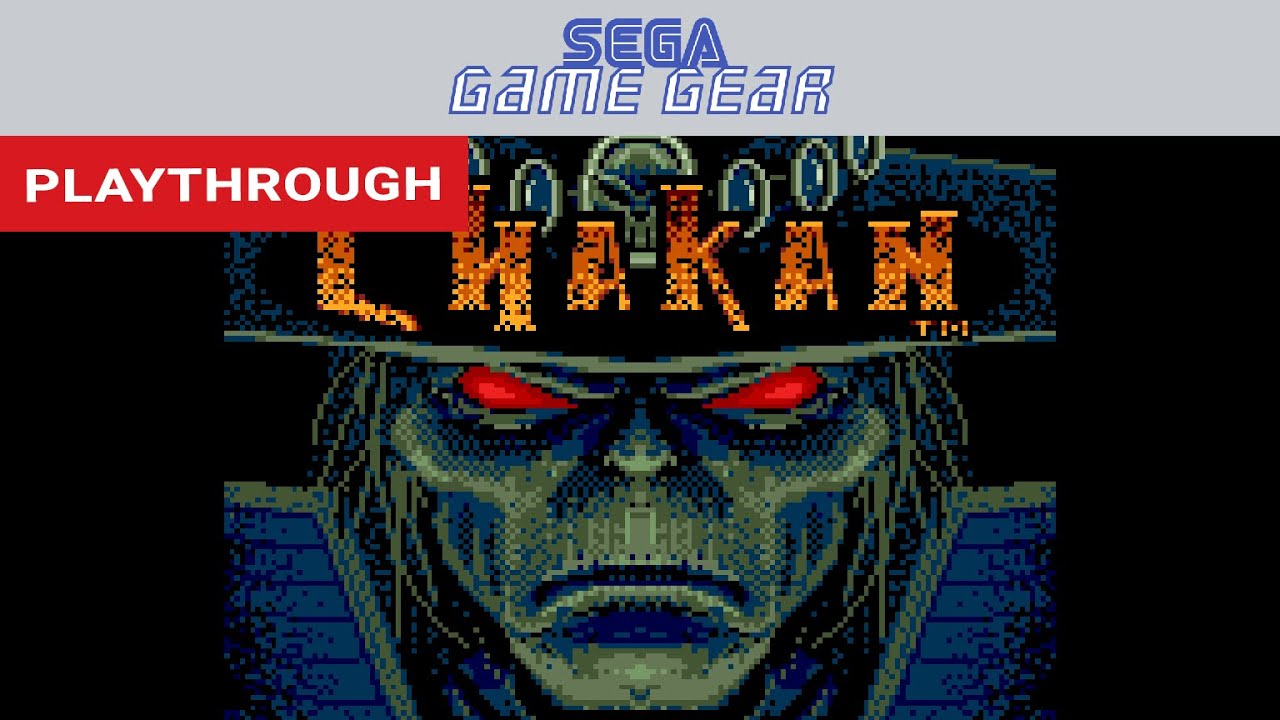 Download Chakan: The Forever Man (Game Gear) Playthrough   RetroGameUp
