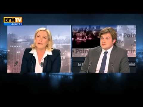 Allemagne, Sauvetage de l'Europe et du systême bancaire, financier :Marine Le Pen BFMTV Politique
