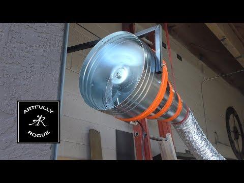 DIY Fume and Smoke Extractor