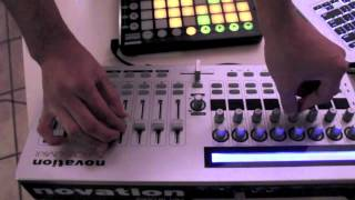 DUBSTEP LIVE MIX with Novation Launchpad & Zero Sl Mkii by J CINCO