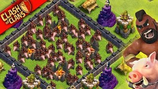 "Clash of Clans: ""SO MANY HOGS... SO LITTLE TIME!"" TH9 HOG VARIANTS: WHICH IS BEST?"