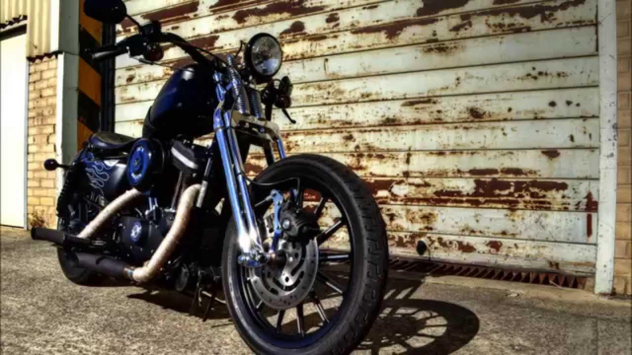 Harley Davidson iron 883 Springer walk around and start up ...