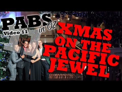 Christmas on the Pacific Jewel | PABS in OZ #11 (My adventures on a cruise ship)