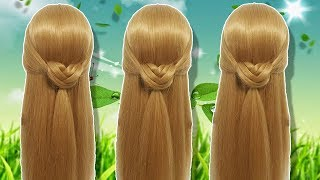 Last Minute Hairstyles for party/wedding/function 🌹 Side braid hairstyles 2019 💞 Hair style girl