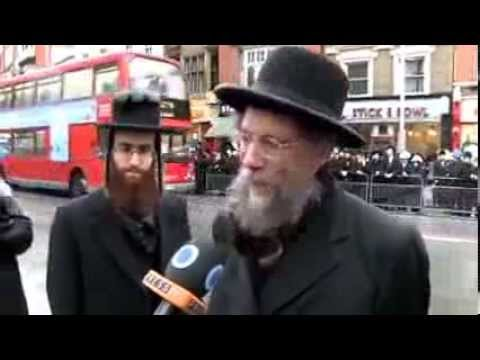 REAL Jews protest against the FAKE Jesuitical Masonic Zionism and oppose the State of Israel