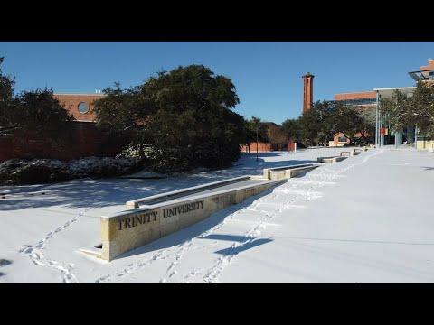2021 Snow at Trinity University