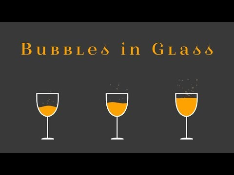 After Effects Tutorial: Motion Graphics Glass Liquid With Bubbles