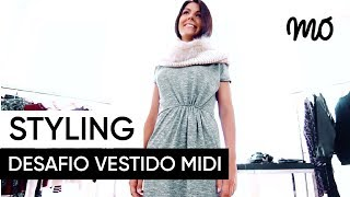 Gabriela Pinheiro - Desafio vestido Midi: 1 peça, 3 looks diferentes