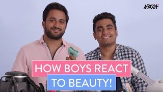 Boys React To Beauty Products With Veer Rajwant Singh And Viraj Ghelani