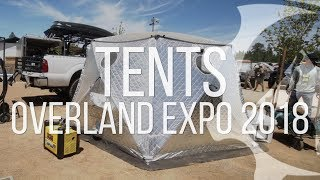 Tents Of Overland Expo West 2018