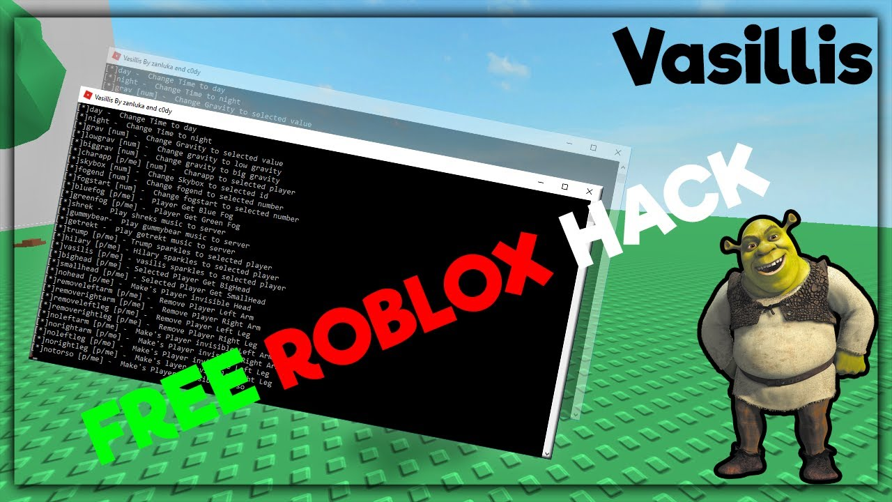 New Working 2017 Roblox Free Exploit Download Vasillis Youtube