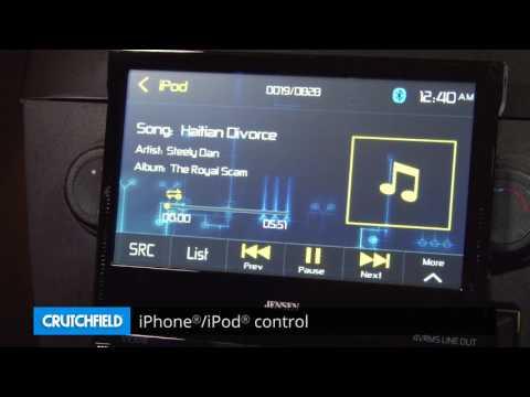 Jensen VX3016 Display And Controls Demo | Crutchfield Video