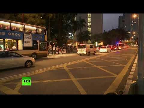 [Hong Kong] Protests continue after face mask ban | 2019